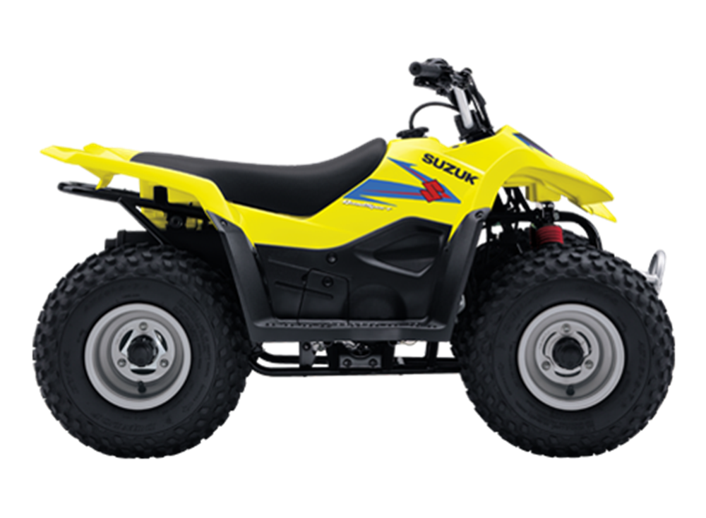 Suzuki ATV's   C W Kirk Lawnmowers